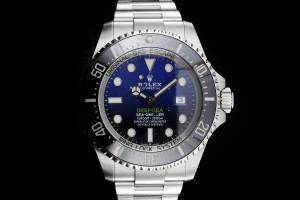 Rolex Sea-Dweller Deepsea Deepblue (44mm) Ref.: 126660 mit Box & Papieren (LC100) aus 2018