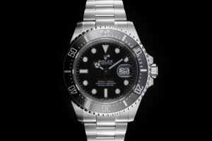 Rolex Sea-Dweller (43mm) Ref.: 126600 Crown Dial mit Box & Papieren (LC100) aus 2019
