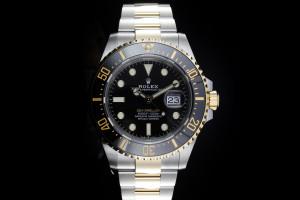 Rolex Sea-Dweller (43mm) Ref.: 126603 in Stahl-Gold mit Box & Papieren aus 2020