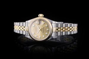 Rolex Lady Datejust (26mm) Ref.: 79173 in Stahl-Gold mit Box & Papieren (LC013) aus 2004