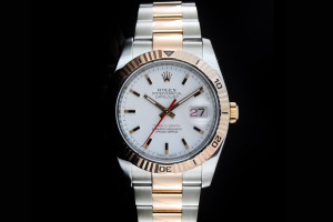 Rolex Datejust Turn-O-Graph (36mm) Ref.: 116261 in Stahl-Roségold Box & Papiere (LC100) aus 2009