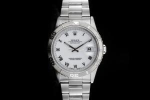 Rolex Datejust Turn-O-Graph (36mm) Ref.: 16264 mit Weissgold Lünette aus 1996