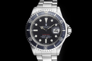Rolex Submariner (40mm) Ref.: 1680 Red Sub mit Plexiglas & All Tritium aus 1970