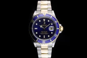 Rolex Submariner Stahl Gold (40mm) Ref.: 16613 in Stahl Gold aus 2002