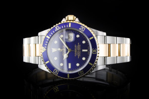 Rolex Submariner Stahl Gold (40mm) Ref.: 16613