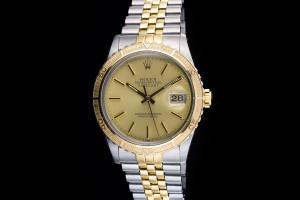 Rolex Datejust Turn-O-Graph Thunderbird (36mm) Ref.: 16253 in Stahl Gold mit Plexiglas aus 1985