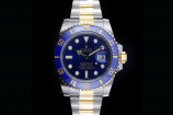 Rolex Submariner (40mm) Ref.: 116613LB mit Box & Papieren 2020