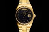 Rolex Day-Date (36mm) Ref.: 18248 mit Aventurine Zifferblatt und Papieren aus 1991