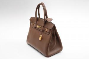 Hermès Birkin Bag (30cm) Togo Braun mit OVP aus 2007