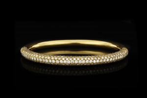 Goldreif mit Diamanten (ca. 4,5ct) | 18k Gelbgold