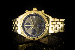 Breitling Chronomat (39mm) in 18k Gelbgold