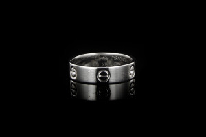 Cartier Love Ring (Gr. 61) in Platin