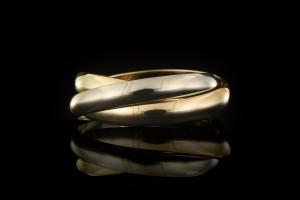 Cartier Trinity Ring | (Gr. 52) 18k Gelb, Weiß- & Roségold