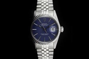 Rolex Datejust (36mm) Ref.: 16030 mit blauem Zifferblatt & Plexiglas aus 1983