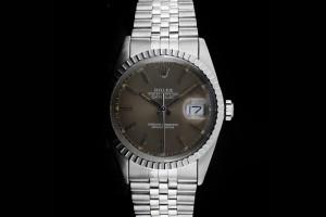 Rolex Datejust (36mm) Ref.: 16030 mit grau-braunem Zifferblatt & Plexiglas aus ca. 1982