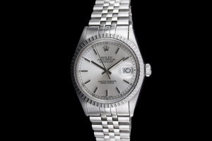 Rolex Datejust (36mm) Ref.: 16030 mit Zifferblatt in Silber mit Box & Papieren aus 1986 LC100