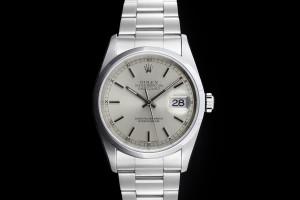 Rolex Datejust (36mm) Ref.: 16200 mit silbernem Zifferblatt aus 1995