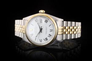 Rolex Datejust (36mm) Ref.: 16013 in Stahl-Gold aus ca. 1980