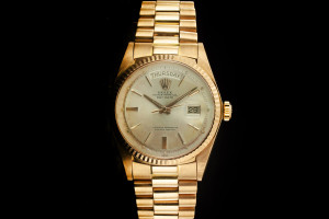 Rolex Day-Date (36mm) Ref.: 1803 in 18k Rotgold mit Präsident-Band & Plexiglas aus 1977