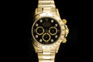 Rolex Daytona (40mm) Ref.: 16528 in Gelbgold mit Box & Papieren (LC100) aus 1998