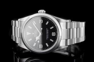 Rolex Explorer (36mm) Ref.: 114270 in Edelstahl mit Box & Papieren aus 2002