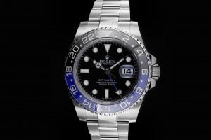Rolex GMT-Master II (40mm) Ref.: 116710BLNR Batman Box & Papiere (LC 100)