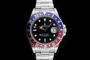 Rolex GMT-Master II (40mm) 16710BLRO Stick Dial Box & Papieren 2013 M-Serie Cal. 3186