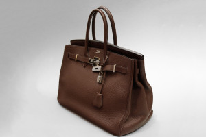 Hermès Birkin Bag (35cm) Togo Braun mit OVP & original Hermes Rechnung
