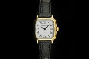 Jaeger-LeCoultre (22mm) Quartz Damenuhr in 18k Gelbgold