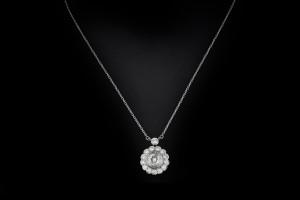 Diamantanhänger mit ca. 2,1ct. Diamanten