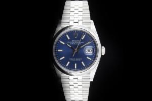 Rolex Datejust (36mm) Ref.: 126200 mit blauem Zifferblatt aus 2021