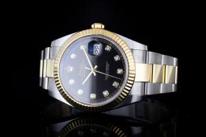 Rolex Datejust (41mm) Ref.: 126333 in Edelstahl & Gold mit Box & Papieren aus 2019