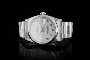 Rolex Datejust (36mm) Ref.: 16200 mit weißem Zifferblatt Papieren (LC267) aus 2001