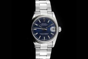 Rolex Datejust Medium (31mm) Ref.: 78274 mit blauem Zifferblatt aus 2001
