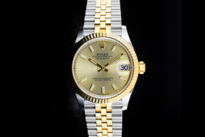 Rolex Datejust Medium (31mm) Ref.: 278273 in Stahl-Gold Box & Papiere (LC100) aus 06/2019