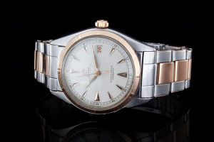 Rolex Datejust Big Bubble (36mm) Ref.: 5031 in Stahl-Roségold aus 1960