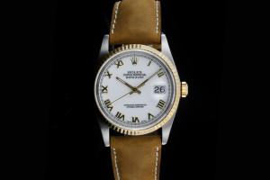 Rolex Datejust (36mm) Ref.: 16233 in Stahl-Gold aus Box & Papiere (LC010) aus 1990