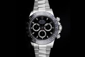 Rolex Daytona (40mm) Ref.: 116500LN Schwarzes Zifferblatt aus 2021