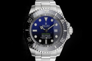 Rolex Sea-Dweller Deepsea Deepblue (44mm) Ref.: 116660 mit Box & Papieren (LC170) aus 2018