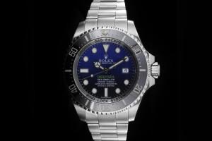 Rolex Sea-Dweller Deepsea Deepblue (44mm) Ref.: 116660 mit Box & Papieren (LC100) aus 2014