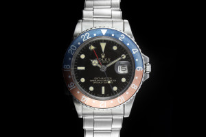 Rolex GMT-Master (40mm) Ref.: 1675 Pepsi Mark Gilt Dial aus 1966