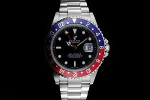Rolex GMT-Master II (40mm) Ref.: 16710 Pepsi mit Box & Papieren (LC888) aus 2003