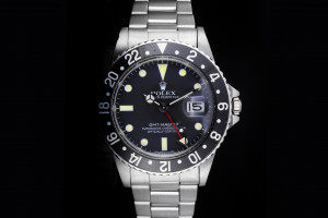 Rolex GMT-Master (40mm) Ref.: 16750 Matte Tritium Dial aus 1982 & Service 2021