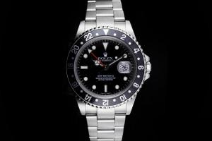 Rolex GMT-Master II (40mm) Ref.: 16710 mit Box & Papieren (LC100) aus 2005