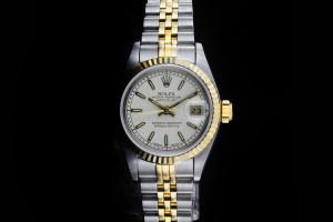Rolex Lady Datejust (26mm) Ref.: 69173 in Stahl-Gold mit Papieren (LC400) aus 1993