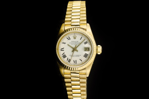 Rolex Lady Datejust (26mm) Ref.: 6917 in 18k Gelbgold mit weißem Zifferblatt aus 1977-78