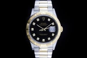 Rolex Datejust Turn-O-Graph (36mm) Ref.: 16263 in Stahl-Gold mit Diamant-Zifferblatt aus 2002