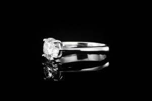 Solitaire Ring (1,03ct.) mit GIA Zertifikat