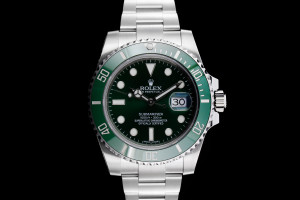 Rolex Submariner (40mm) Ref.: 116610LV mit Box & Papieren (LC120) 2018 Full Set