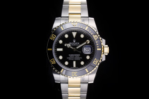 Rolex Submariner (40mm) Ref.: 116613LN mit Box & Papieren 2018 (LC110)